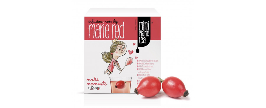 Marie Red - 12 XL Tea Bags