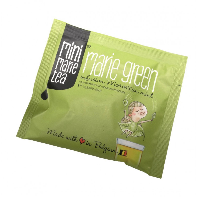Marie Green - 80 Individually Wrapped Tea Bags