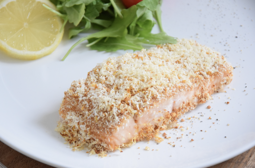 Saumon en croûte de XAVIES' Granola