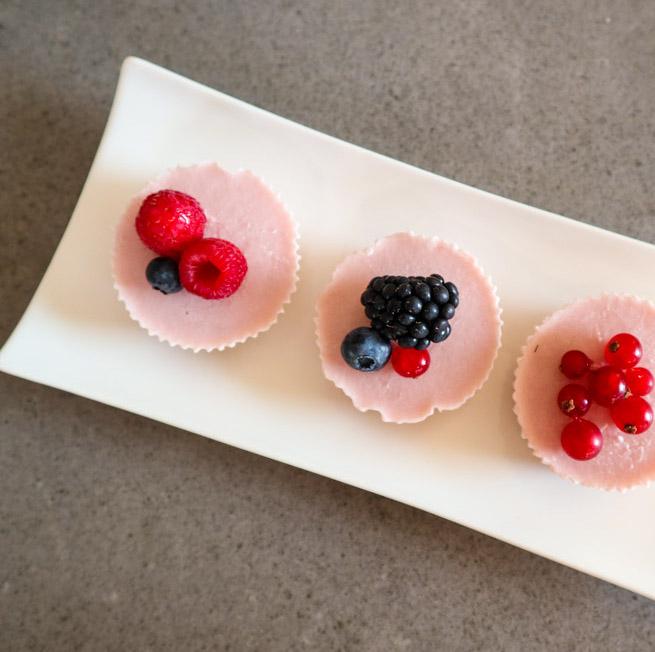 XAVIES' Mini Cranberry Yoghurt-Granola-ijsjes